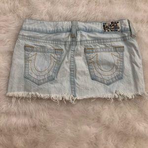 True Religion Jean Skirt